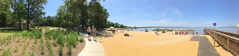 Jamestown Beach, Jamestown, VA